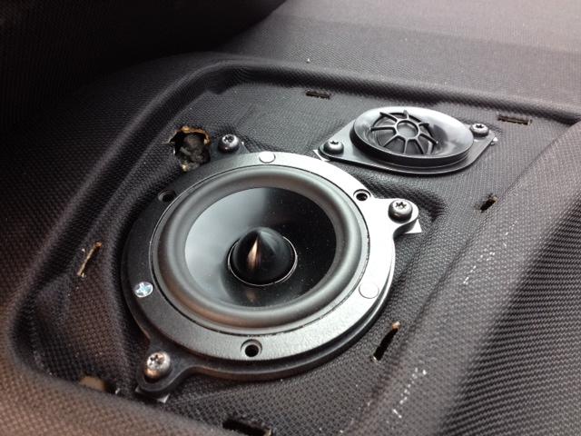 Base Audio System Upgrade
