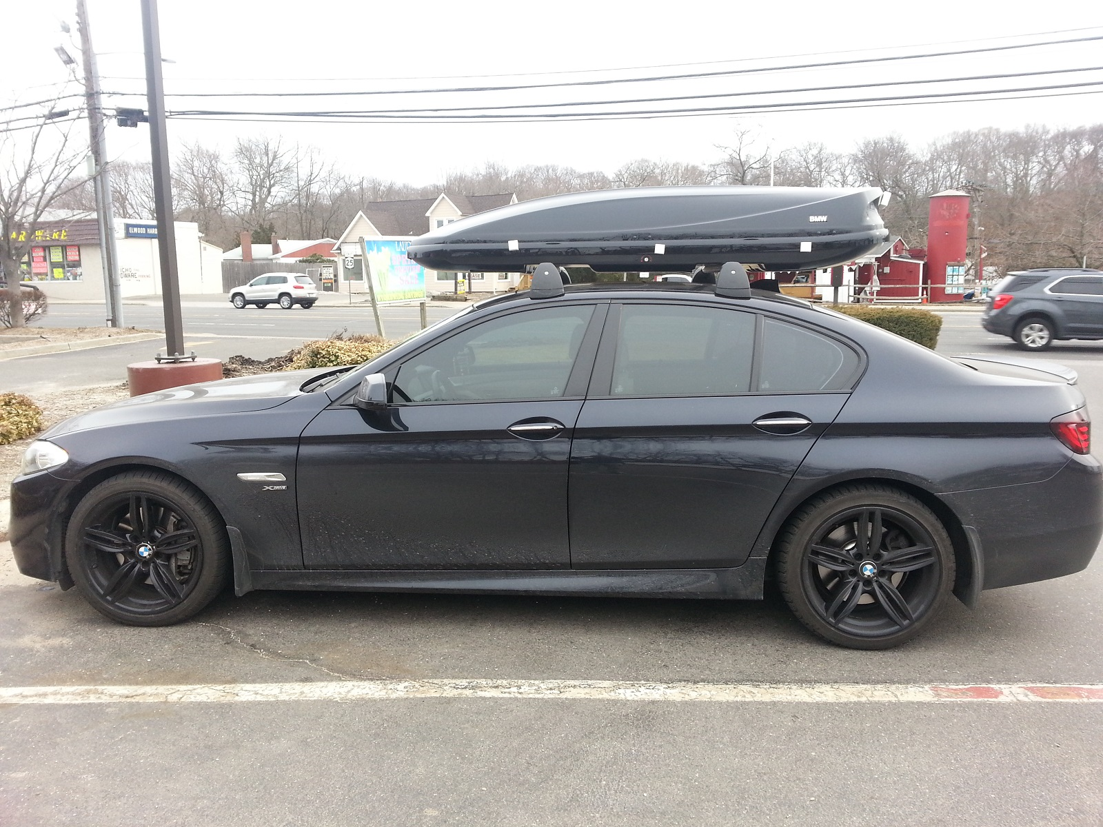 New Bmw Roof Box 460