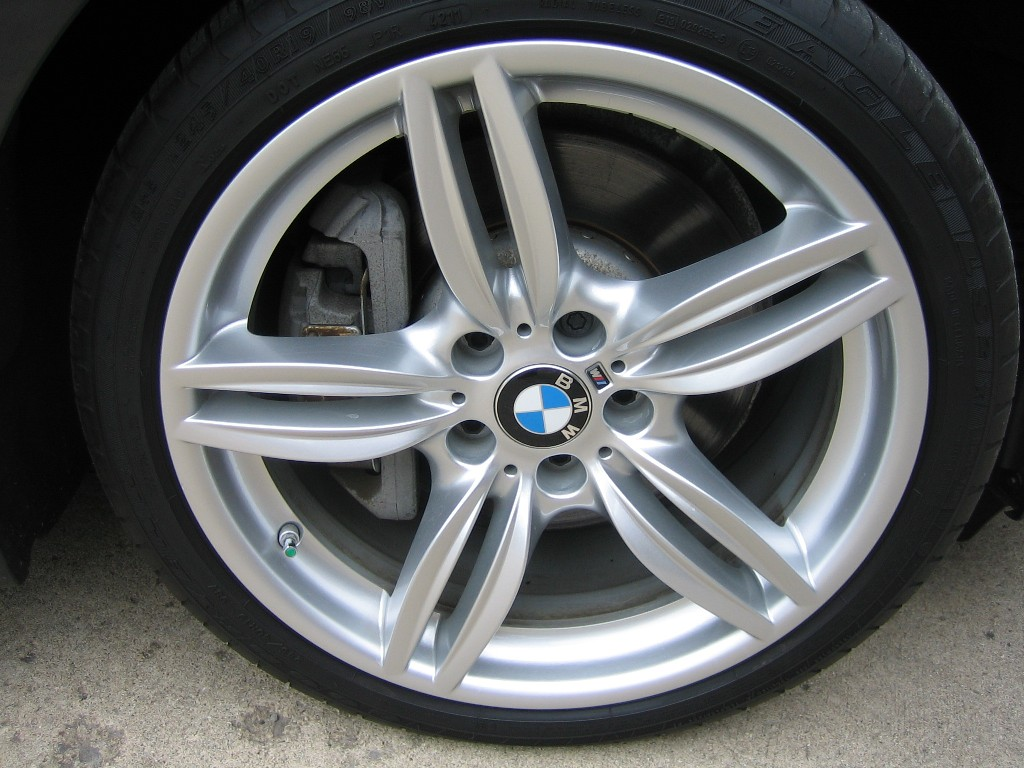 as new bmw 351 msport wheels with goodyear eagle ls2 tires. Black Bedroom Furniture Sets. Home Design Ideas