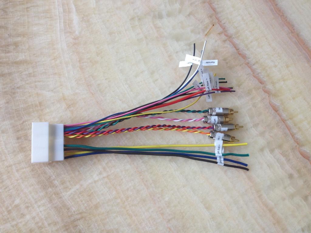 HI-FI Amp Harness