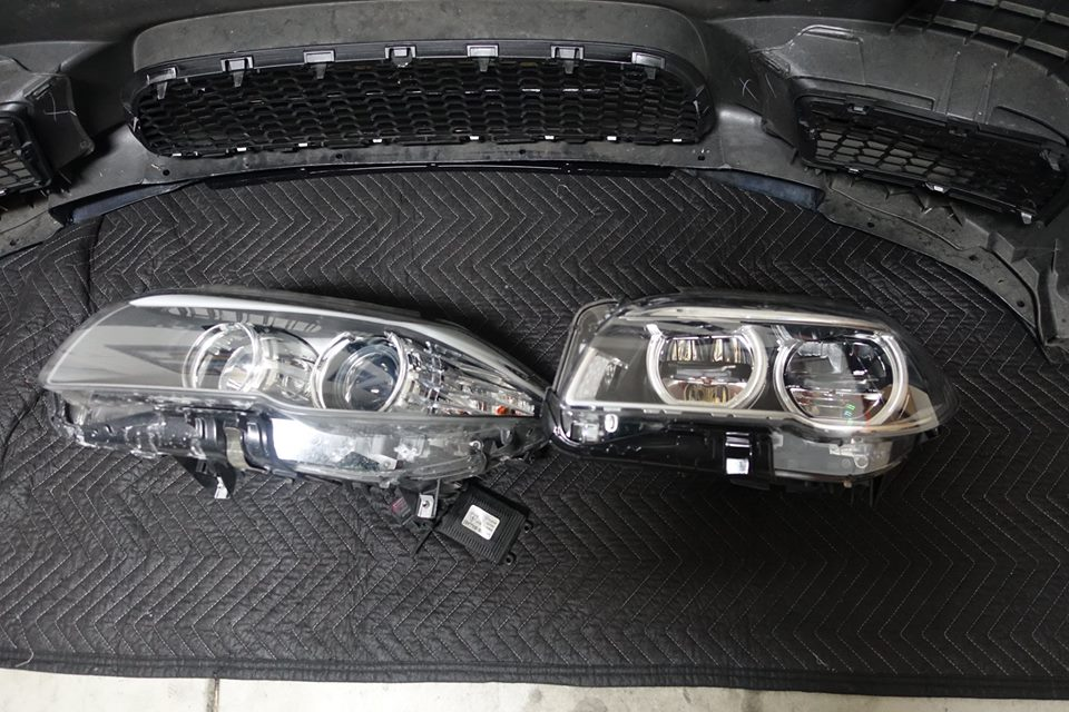 2015 Adaptive LCI LED Headlights Upgrade - 2010 2011 BMW 5
