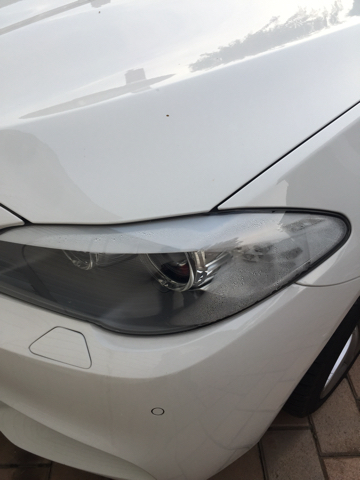 Headlight Condensation