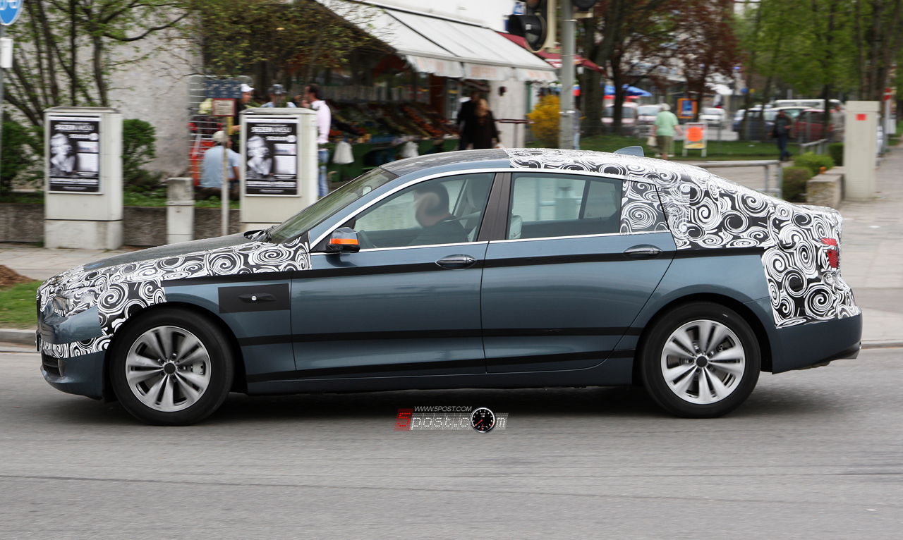 Production Bmw 5 Series Gt Caught Testing In Munich