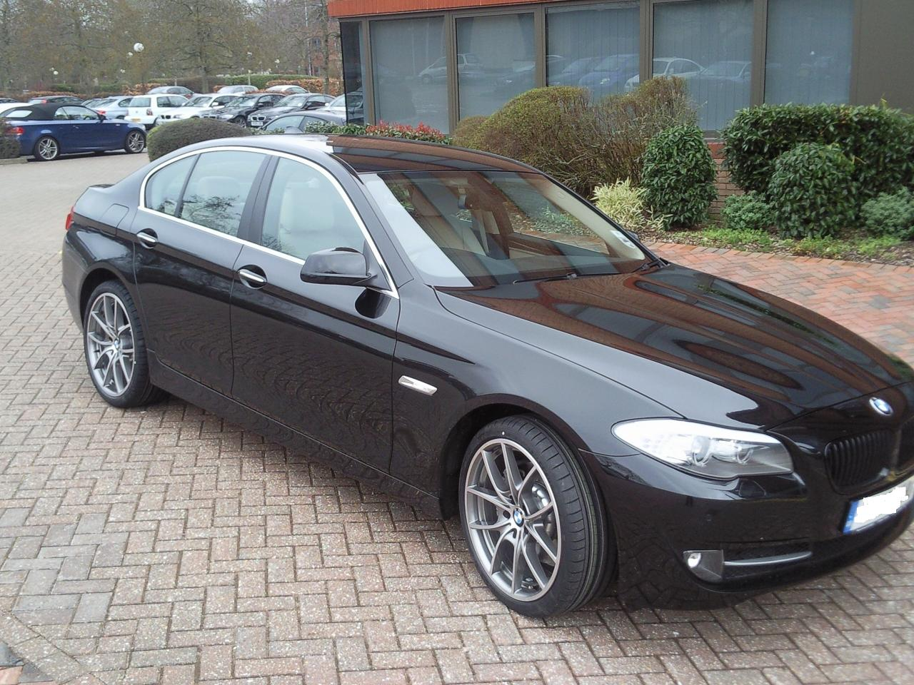 New 5 Series Arrived With V Spoke Style 328 Alloy Wheels