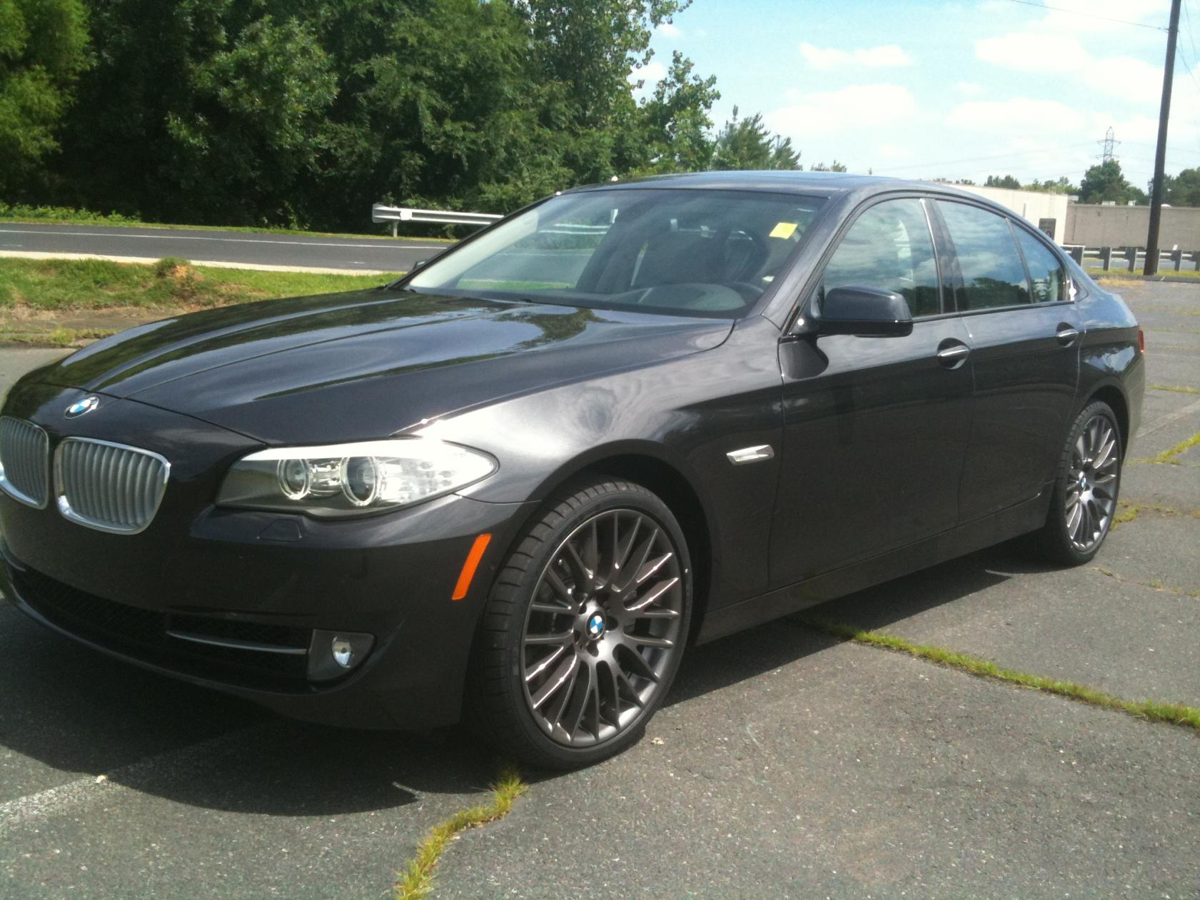 550i Dark Graphite With Style 312 20 Quot Inch Wheels