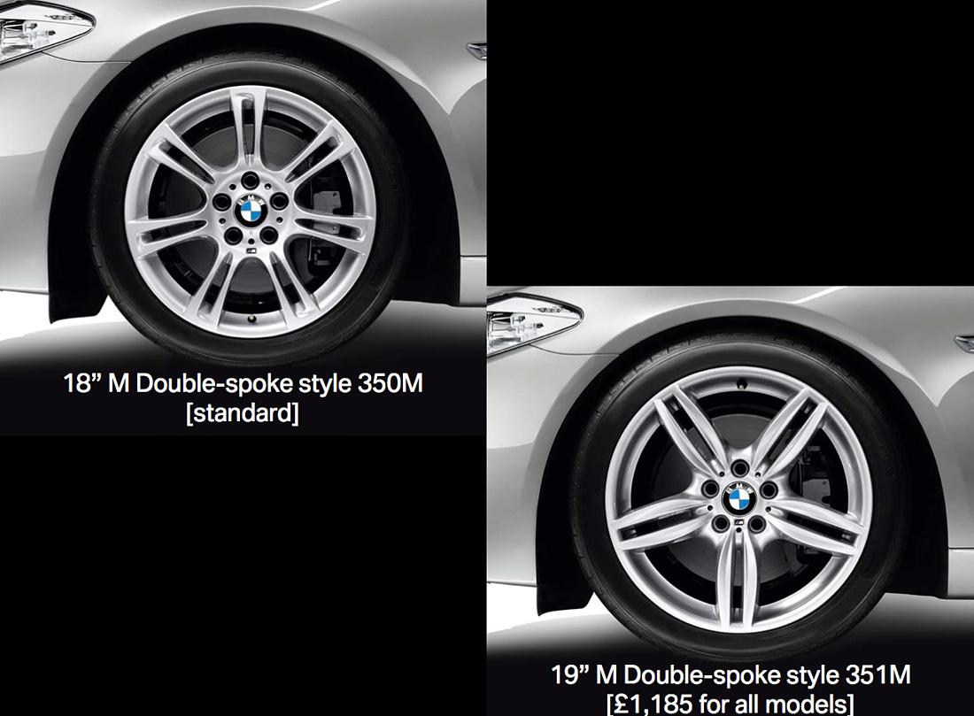 F10 5 Series Sedan M Sport Package Revealed Available