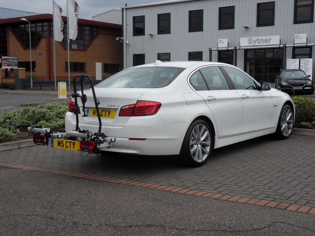 Bmw 6 Series Portland >> 525D with bicycle rack