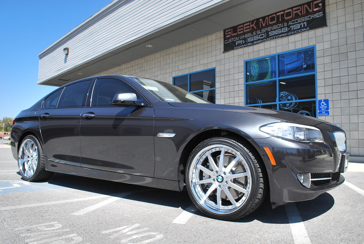 """2011 550i with 20"""" Vellano Forged wheels"""