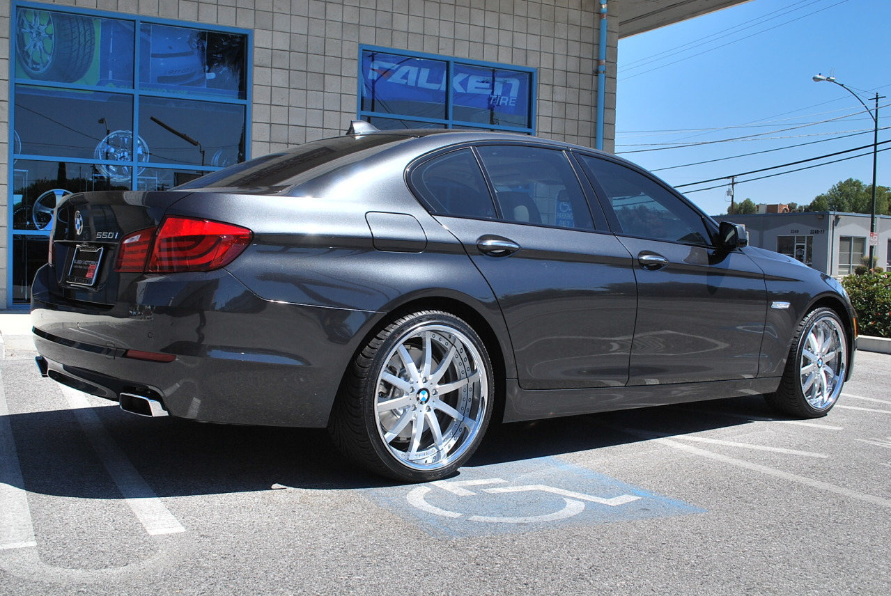 I With Vellano Forged Wheels - 2011 bmw 5 series rims