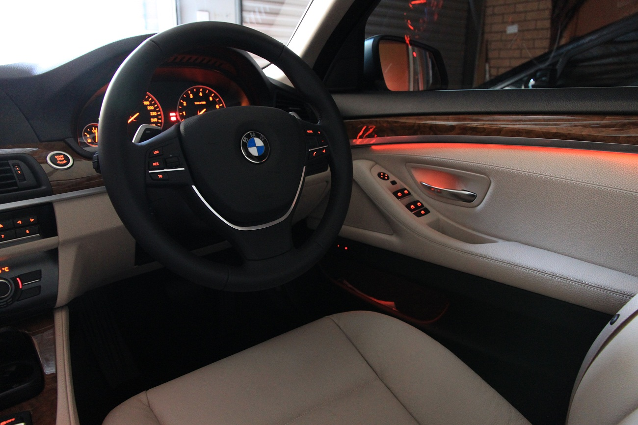 F10 5-series ambient lighting (interior ambient lighting and