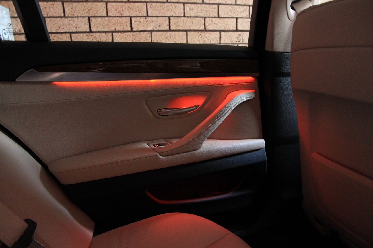 F10 5-series ambient lighting (interior ambient lighting and exterior lights)