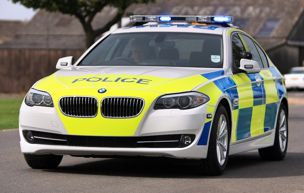 Bmw To Outfit Uk Police Force With F10 5 Series