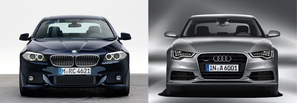 Worksheet. Rivals Photo Comparison BMW F10 5Series vs Audis New A6