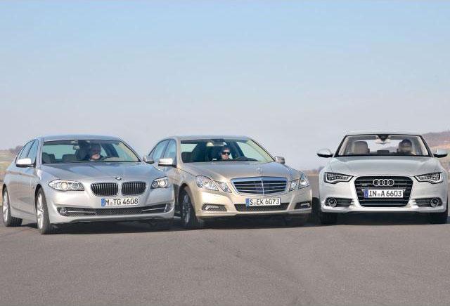 Auto Zeitung Comparison F10 5 Series Vs New A6 And E Class