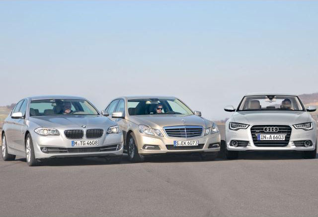 Auto Zeitung Comparison F10 5series vs New A6 and Eclass