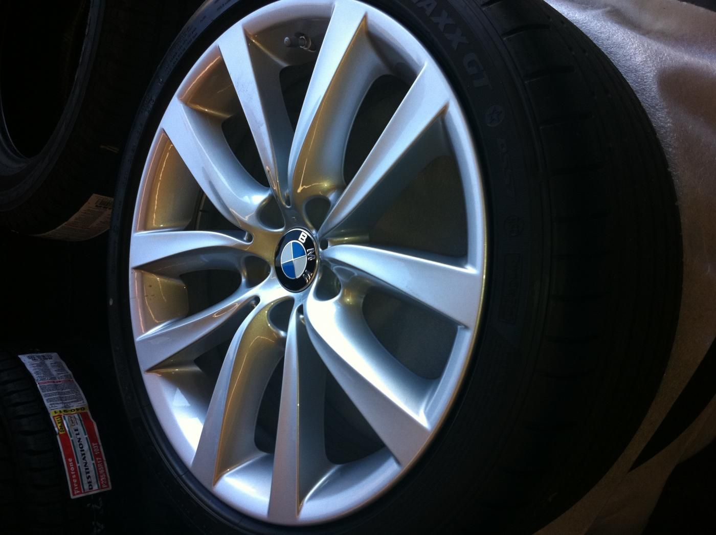 SET OF NEW BMW OEM Wheels NEVER USED - 2011 bmw rims