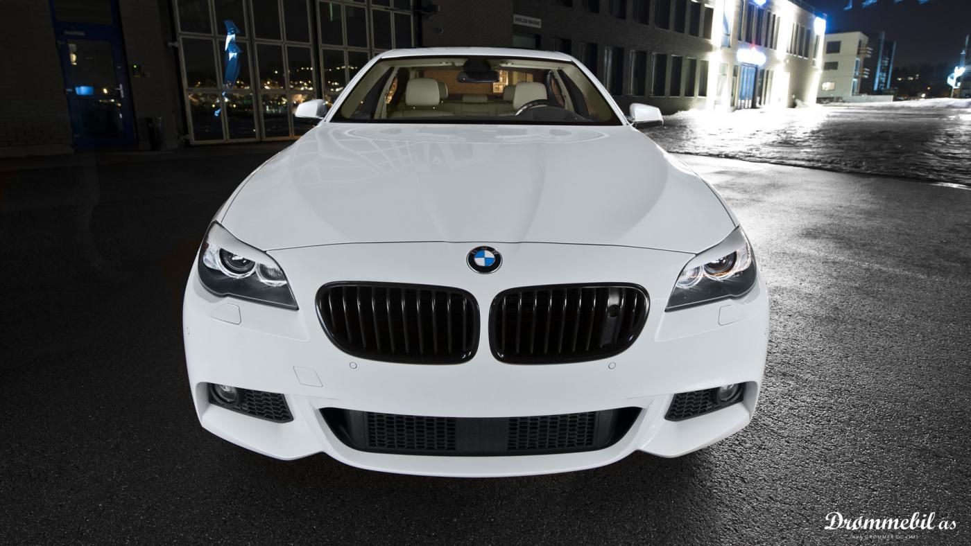 Custom Modified Bmw F10 530d Alpine White