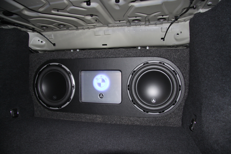 After Market Car Audio Install In F10