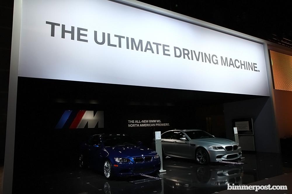 the ultimate driving machine slogan