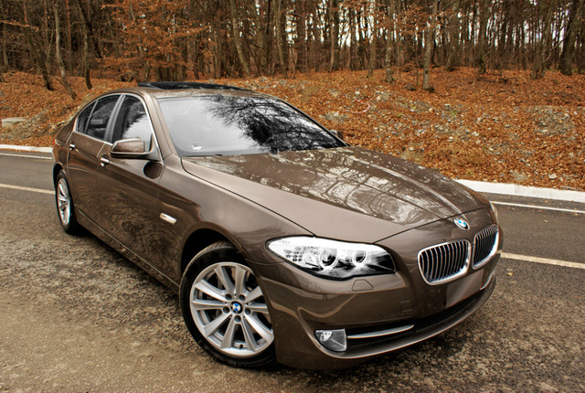 Bmw 5 Series Havana Metallic