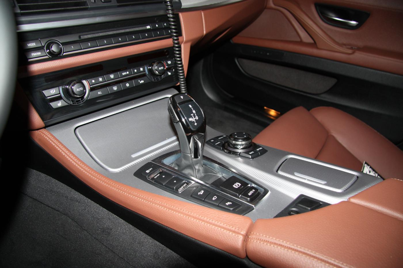 Cinnamon Brown Interior