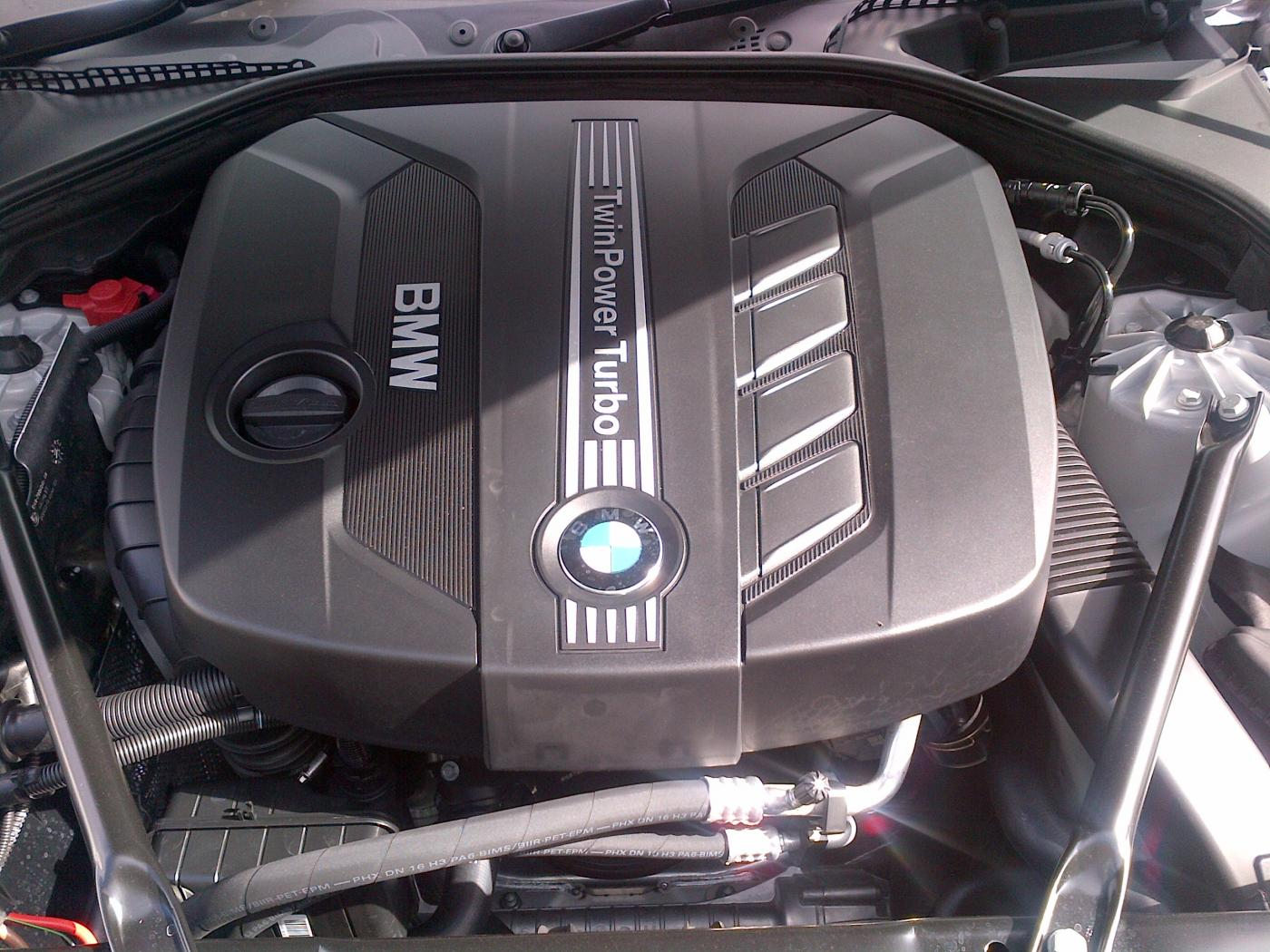 520d Engine Cover
