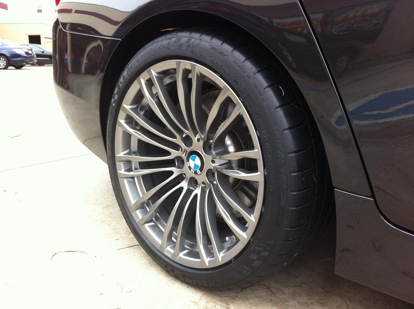 M5 Style 345 Wheels On An F10 528i