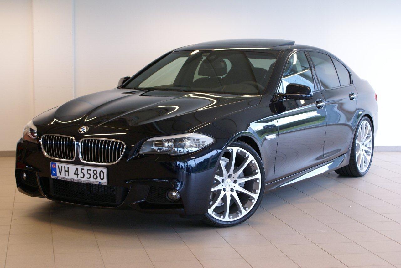 My New Carbon Black F10 M Sport Hartge