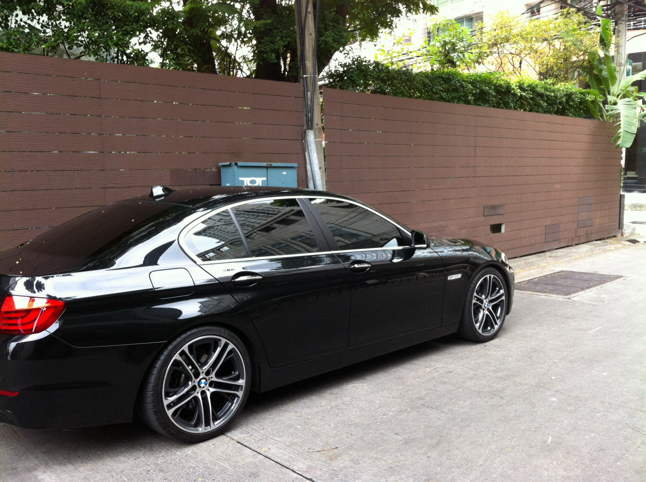 Rims And Springs Only - 2011 bmw 5 series rims