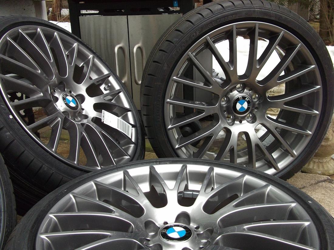 bmw charcoal rim style wheel oem rims front