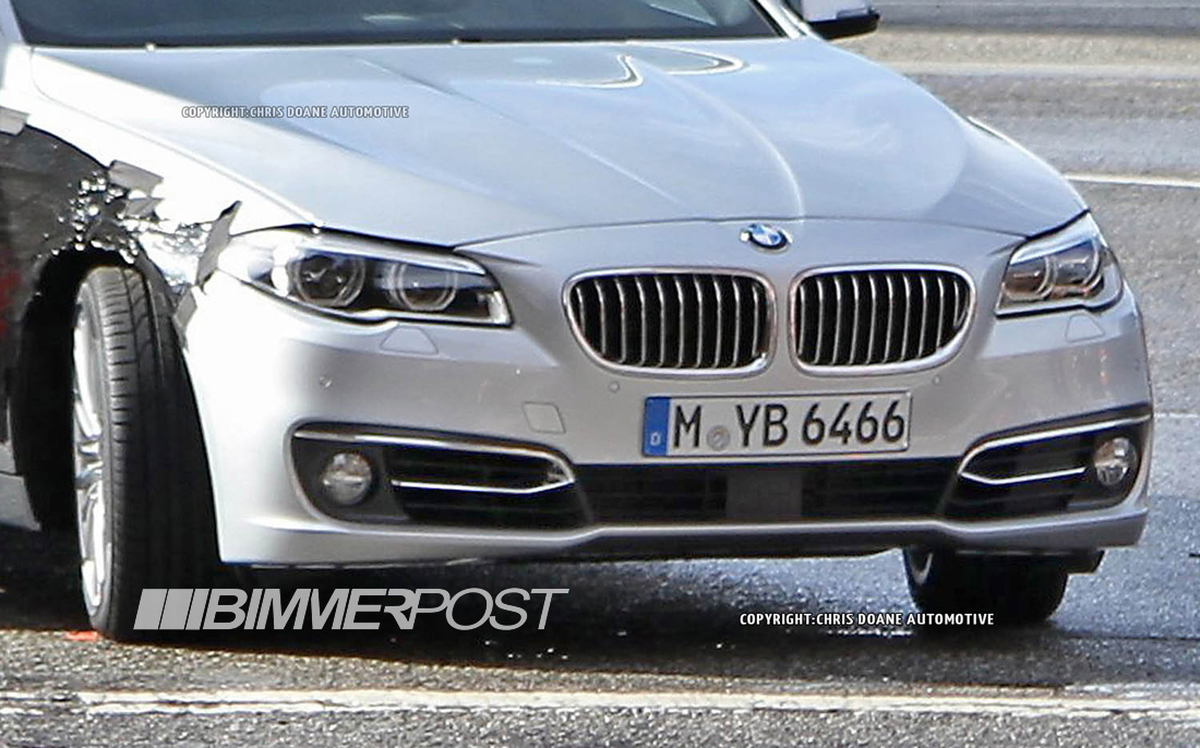 Leaked Images of 2014 BMW 5 Series and M5 LCI Facelift
