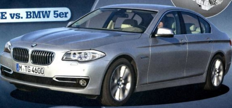 Clear Look At 2014 5 Series F10 Lci Facelift From Bmw