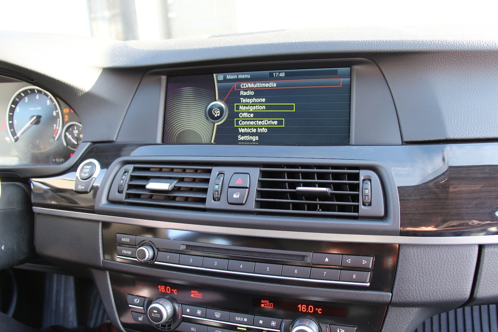 Retrofitting Navigation On My F10