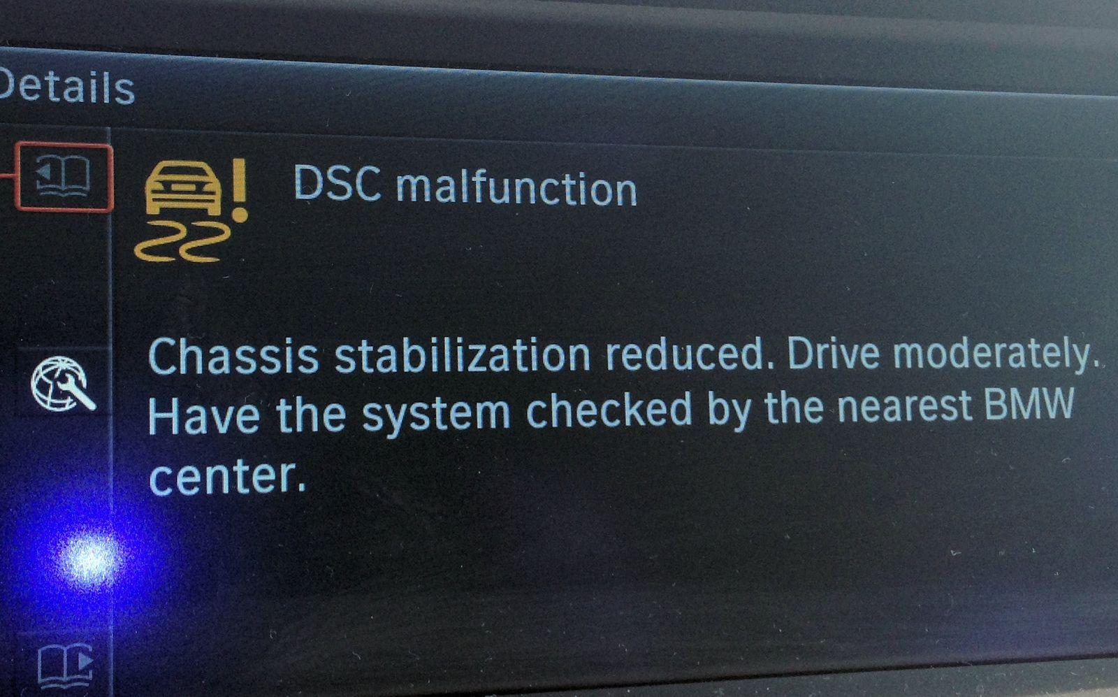 Dsc And Drivetrain Malfunction Warnings 2010 2011 Bmw 5 Series Forum F10