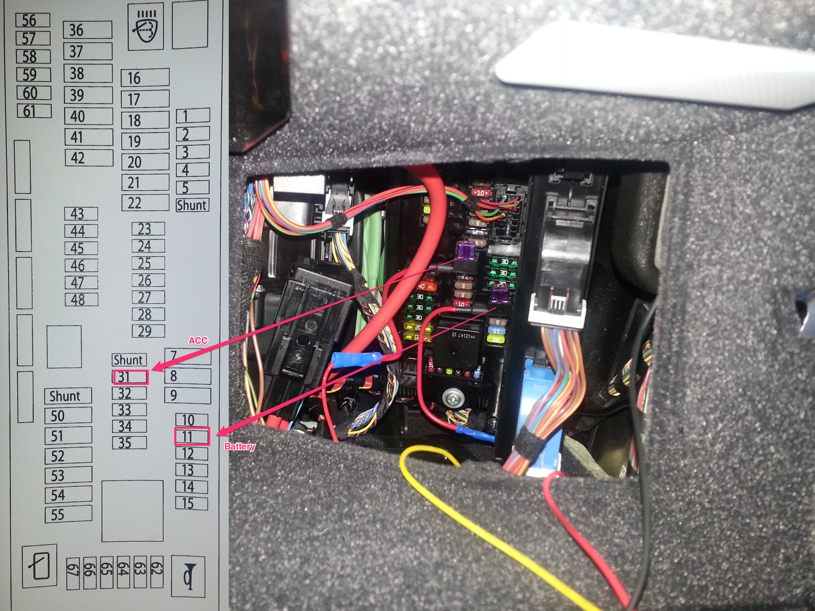 Bmw F10 Fuse Box Free Wiring Diagrams 2014 M6 Installed A Blackvue Camera System Today Page 2