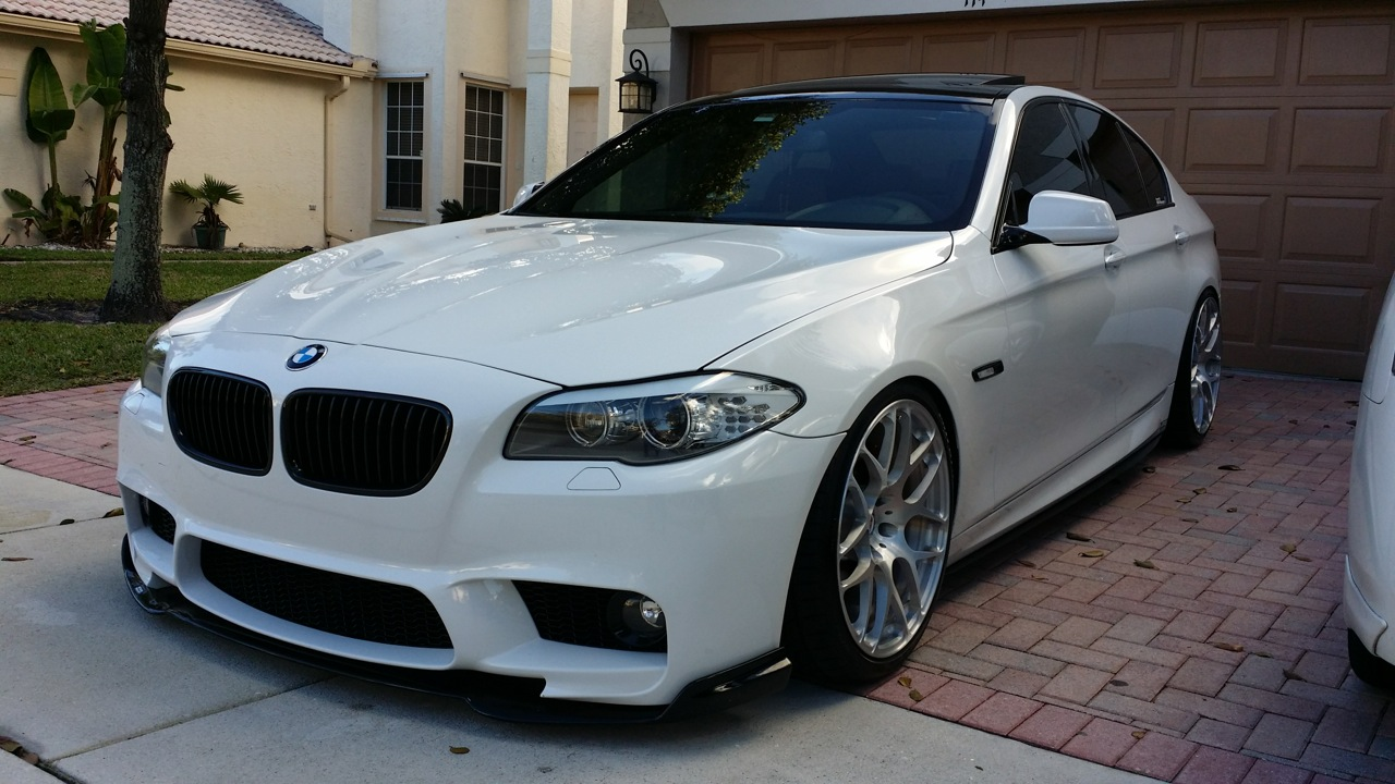 Post Pictures Of Your F10 M Sport M5 Replica Bumper