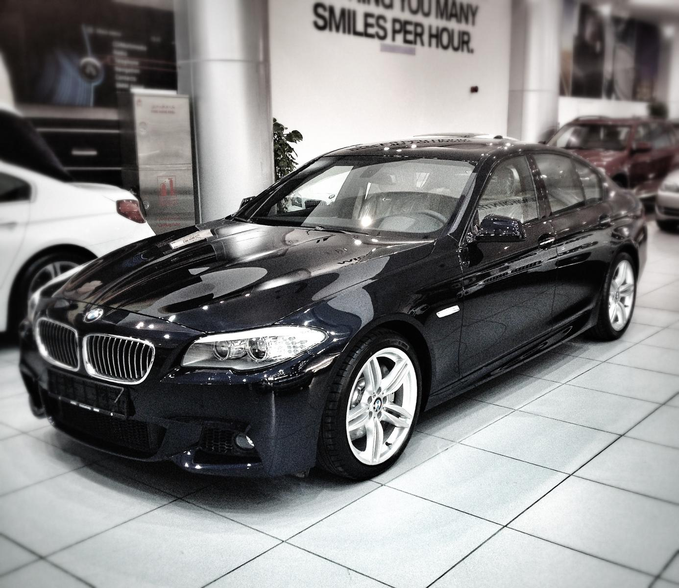 2012 Bmw F10 M5 Saloon Uk: My Carbon Black 535i M-Sport