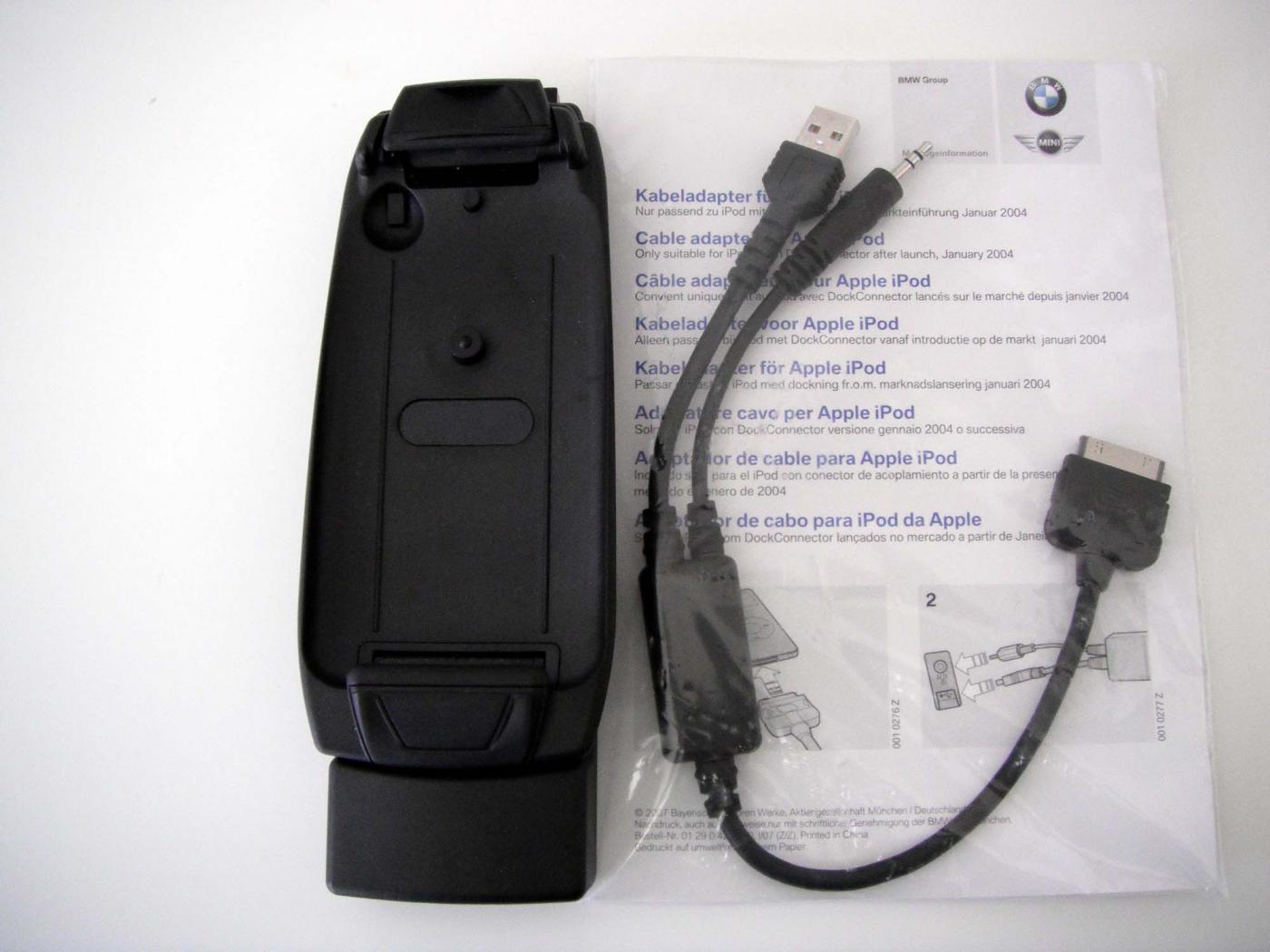 brand new bmw apple iphone 3g 3gs snap in adapter. Black Bedroom Furniture Sets. Home Design Ideas