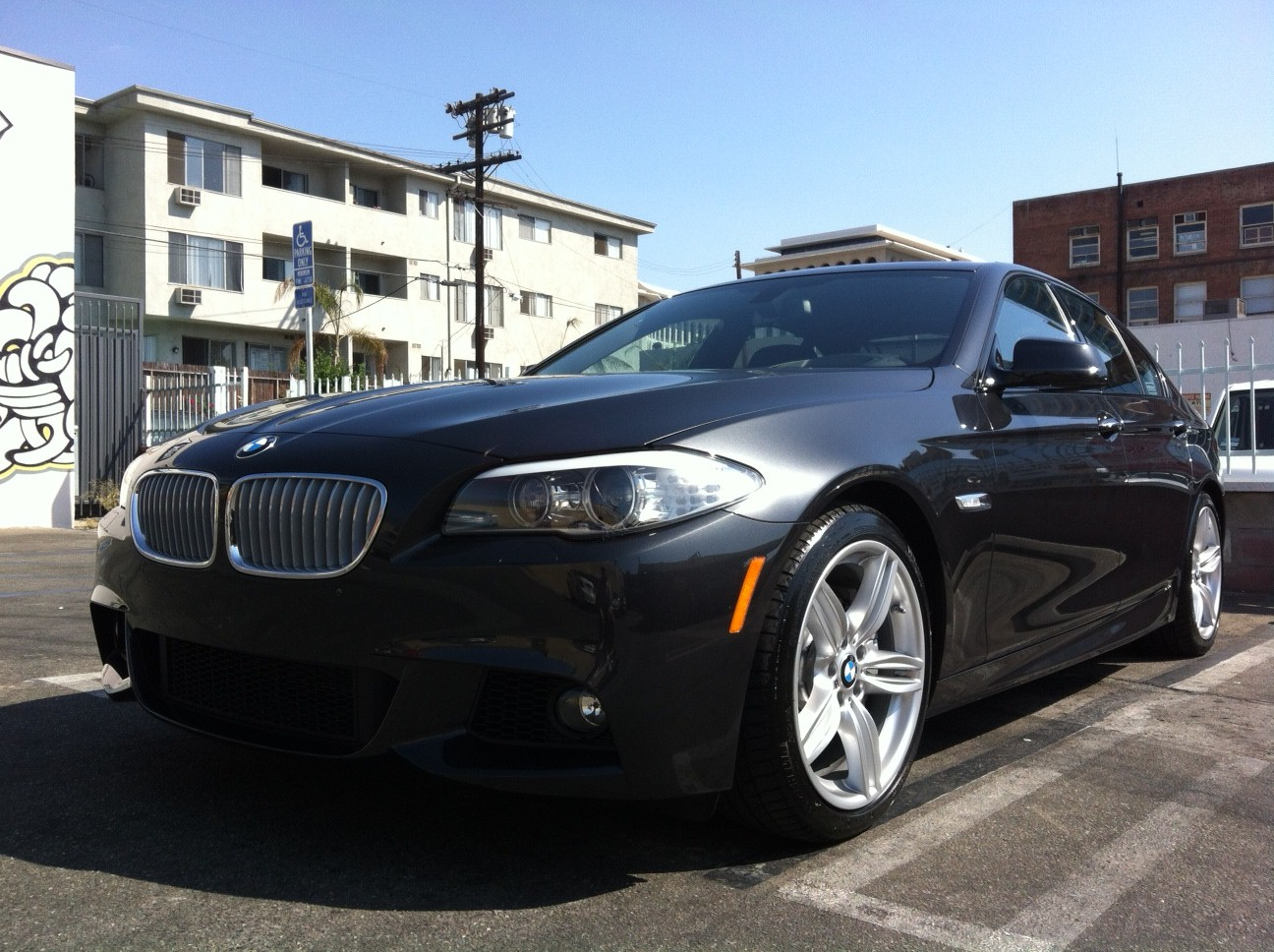 just picked 2013 bmw 550i m sports. Black Bedroom Furniture Sets. Home Design Ideas
