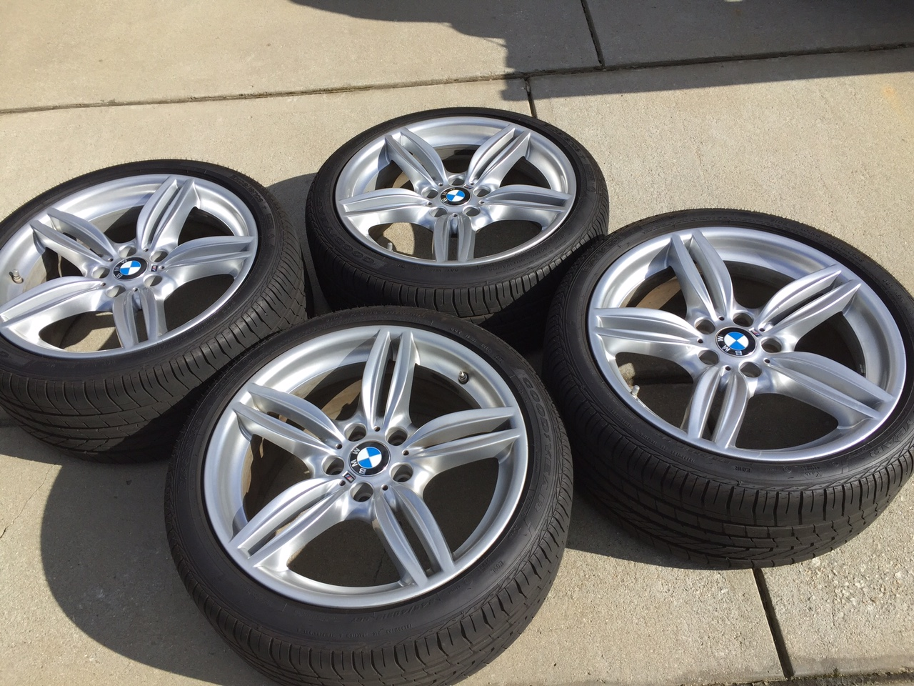 550i m sport wheels tpms and goodyear excellence run on. Black Bedroom Furniture Sets. Home Design Ideas
