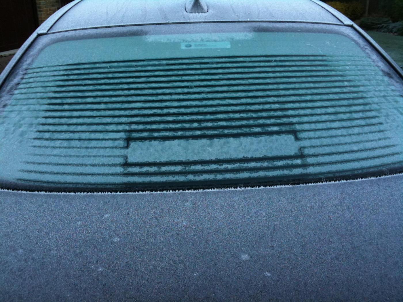 Heated rear window problem for Window heater