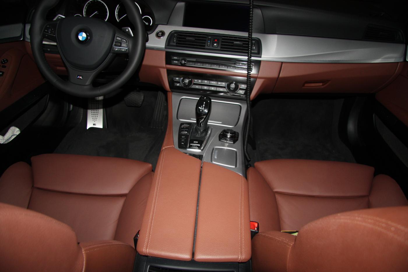 Cinnamon Brown Interior